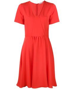 P.A.R.O.S.H. | P.A.R.O.S.H. Flared V-Neck Dress M