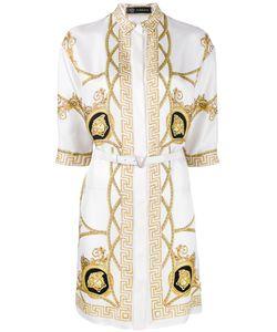 Versace | Medusa Belted Coat 42