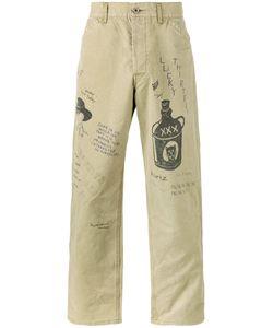 Neighborhood | Sketch Print Trousers S