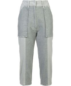 Victor Alfaro | Cropped Trousers 0 Cotton