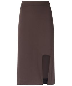GLORIA COELHO | Asymmetric Skirt