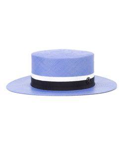 Maison Michel | Flat Hat Large Straw