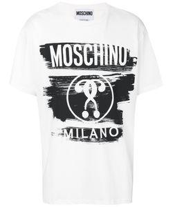 Moschino | Футболка С Прнинтом Логотипа