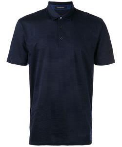 Z Zegna | Crossed Pattern Polo Shirt