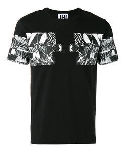 Les Hommes Urban | Graphic Print T-Shirt Large Cotton