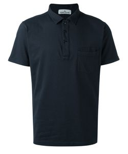 Stone Island | Patch Pocket Polo Shirt Large Cotton