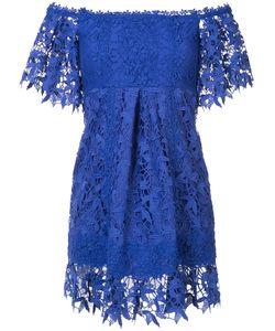Nicole Miller | Платье На Одно Плечо С Вышивкой