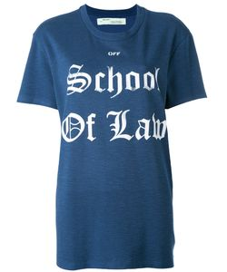 OFF-WHITE | School Of Law T-Shirt Size Small
