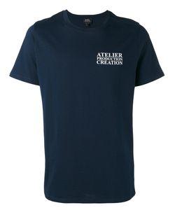 A.P.C. | A.P.C. Logo T-Shirt S