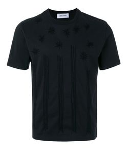 JIMI ROOS | Star Embroidered T-Shirt Size Large