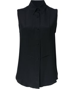 PALLAS | Anna Sleeveless Shirt 38 Silk
