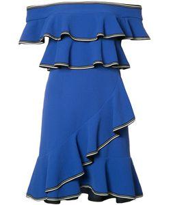 Rebecca Vallance | Billie Ruffle Mini Dress Size 6