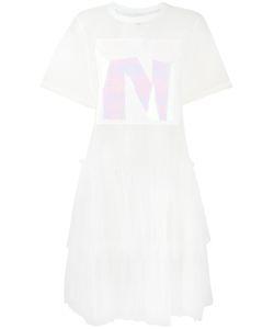 NICOPANDA   Sheer T-Shirt Dress Xs