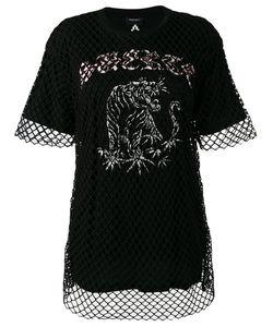 MARCELO BURLON COUNTY OF MILAN   Marena T-Shirt Size Medium