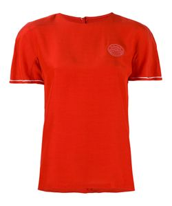 LOUIS FERAUD VINTAGE   Embroidered Logo T-Shirt
