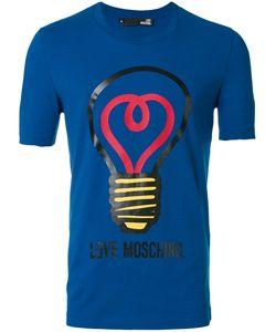 Love Moschino | Футболка С Принтом Лампочки