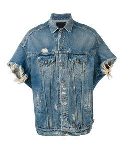 R13   Shortsleeved Denim Jacket Size Medium