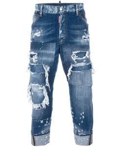 Dsquared2 | Work Wear Distressed Jeans 52 Cotton/Spandex/Elastane