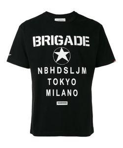 Neighborhood | Star Graphic Print T-Shirt Size Large