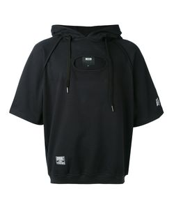 Ktz   Cut-Detail Hooded Sweatshirt M