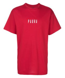 Paura | Oversized Logo T-Shirt Men S