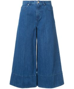 Co | Cropped Wide-Legged Jeans