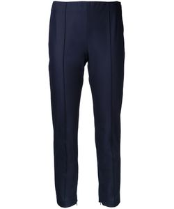 Theory   Slim-Fit Cropped Trousers 8 Cotton/Polyamide/Spandex/Elastane