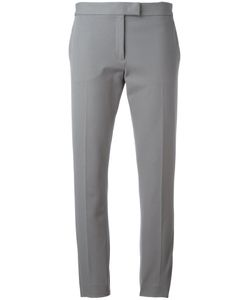 Joseph | Cropped Classic Trousers 36 Cotton/Elastodiene/Viscose/Polyester