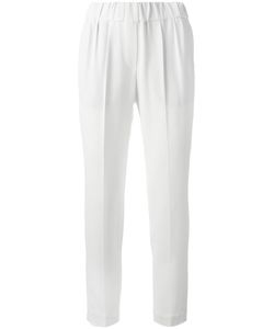 Brunello Cucinelli | Tailo Cropped Trousers 38 Silk/Acetate/Polyester