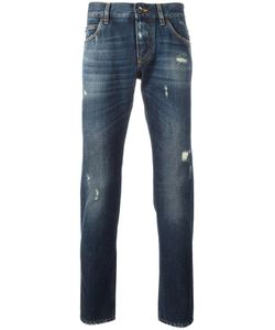 Dolce & Gabbana | Ripped Detail Jeans 50 Cotton