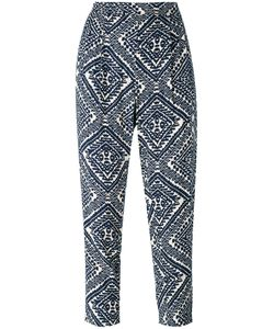 Steffen Schraut   Printed Cropped Trousers Size 36