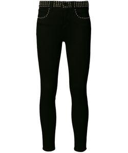 L'Agence | Studded Waistband Skinny Jeans 31