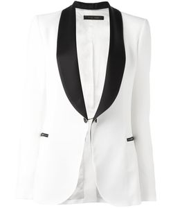 Elie Saab | Contrast Blazer 40 Acetate/Rayon/Cupro/Polyester