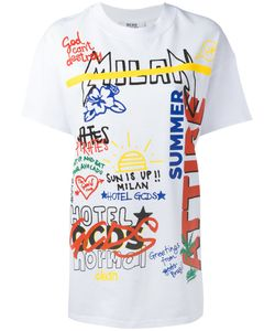Gcds | Mixed Print T-Shirt M