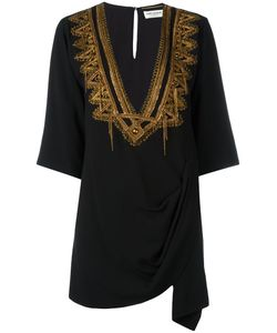 Saint Laurent | Embroidered Kaftan Size 38