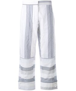Stella Mccartney | Striped Cropped Truosers Size 44