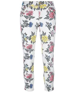 House Of Holland | Roses Print Skinny Jeans 14