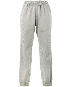 Mira Mikati | Embroide Stripe Track Pants 34 Cotton/Spandex/Elastane/Polyester