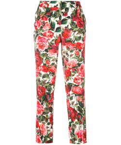 Dolce & Gabbana | Cropped Rose Trousers