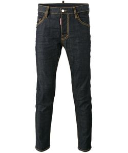Dsquared2 | Skater Jeans 48 Cotton/Spandex/Elastane/Leather