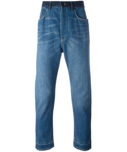 Lanvin | Stonewashed Dropped Crotch Jeans 32 Cotton/Polyester