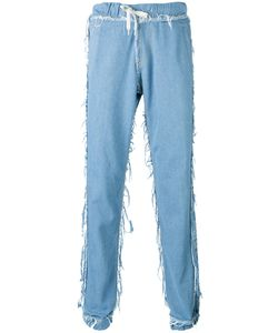 Andrea Crews   Loose-Fit Frayed Jeans Medium