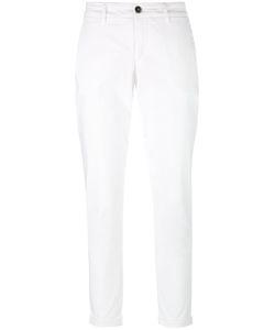 Fay | Long Chinos Pants 29 Cotton/Spandex/Elastane