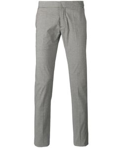 Andrea Pompilio   Houndstooth Pattern Trousers Size 46