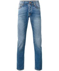 Nudie Jeans Co | Узкие Джинсы С Высветленным Дизайном