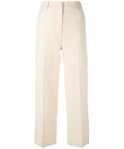 SportMax | Textured Cropped Trousers Size 42