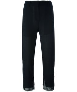 Ann Demeulemeester | Cropped Slim-Fit Trousers Size 40