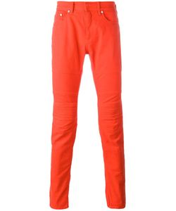 Neil Barrett | Ribbed Knee Panelled Trousers 31 Cotton/Spandex/Elastane