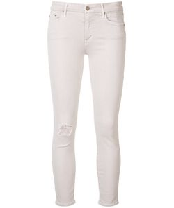 Mother | Ripped Cropped Skinny Jeans Size 31