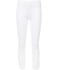 Frame Denim | High-Rise Cropped Jeans 24 Cotton/Polyester/Spandex/Elastane